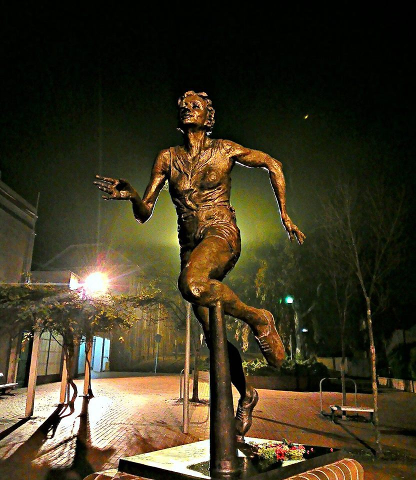 The Marjorie Jackson bronze cast sculpture was but one of Antony Symons many creations considered true works of art